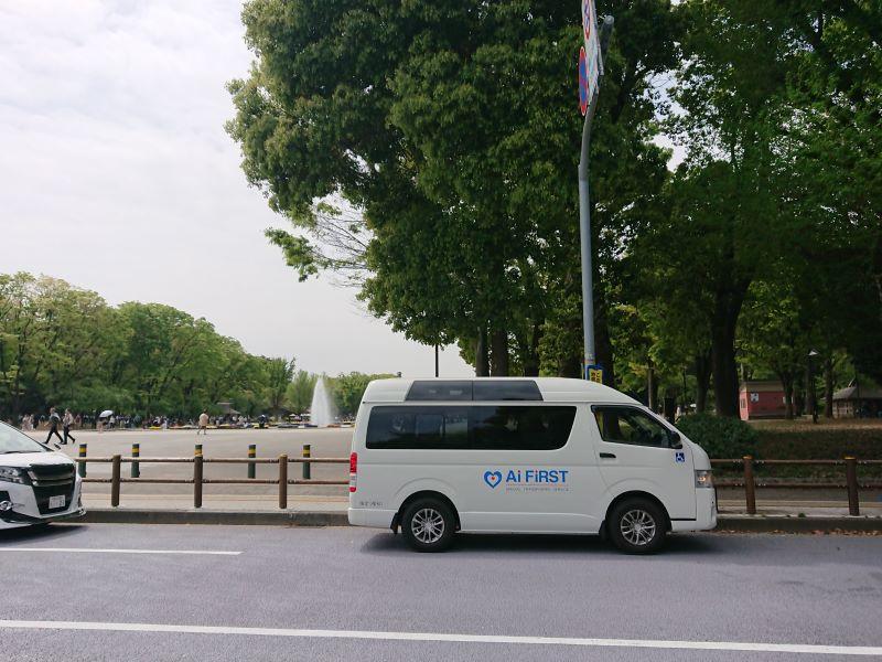 上野公園で観光